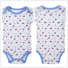 Autumn 1 Piece Cotton Style Baby Girl Boy Winter Clothes Boat New Born Body Baby Ropa Character Colorful Baby Bodysuit r028