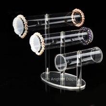 3 уровневый прозрачный акриловый Т бар браслет ожерелье ювелирные