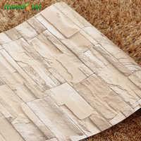 5 M/10 M Wohnzimmer Küche Bad Wasserdichte Wand Aufkleber Home Decor Abnehmbare Vinyl PVC Ziegel Stein Selbst klebstoff Tapete