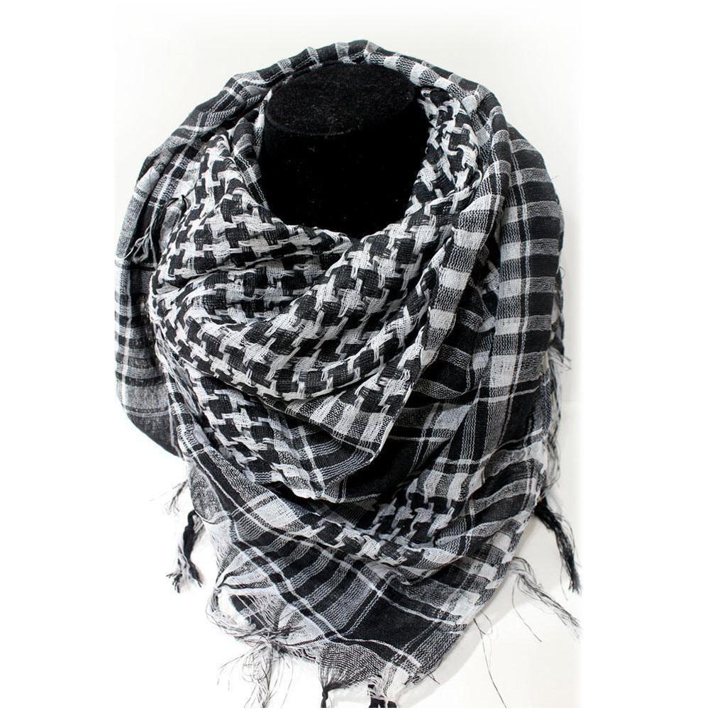Army Military Tactical Keffiyeh Shemagh Arab Scarf Shawl Neck Cover Head Wrap US