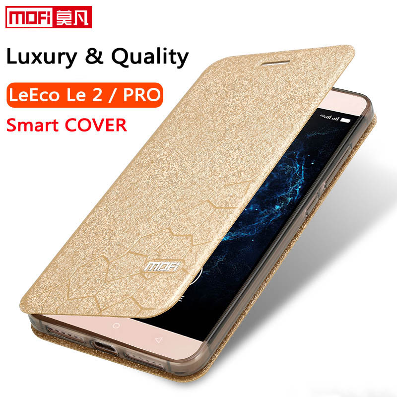 letv leeco le 2 pro case silicon le2 pro cover leather flip funda silicone coque le2