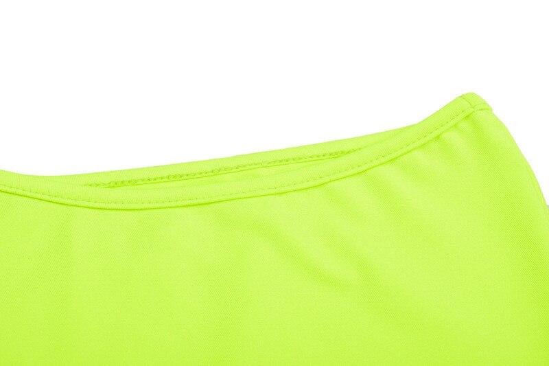 One shoulder bodysuit women11