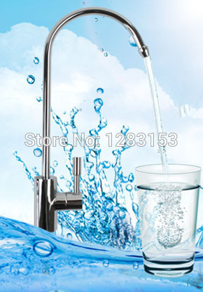high quality 100 copper brass kitchen water faucet 1 4 Water purifier tap directly drinking free