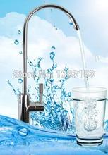 Высокое качество 100% медь/латунь кухня водопроводный кран 1/4 «очиститель Воды кран непосредственно питьевой бесплатно sihipping