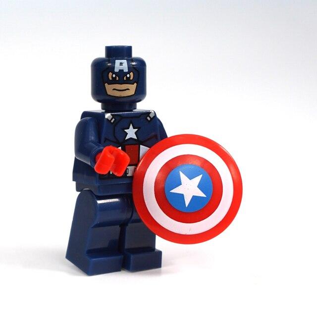 Fidget Spinner Marvel Hand Spinner  Captain America Finger spinner Metal Top Shield Toy beyblade Anti stress Bearing