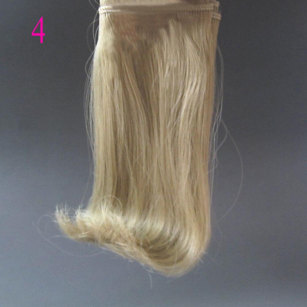 1 pcs 15 cm & 25 cm * 100 cm Boneka Wig untuk 1/3 1/4 1/6 boneka BJD - Boneka dan mainan lunak - Foto 4