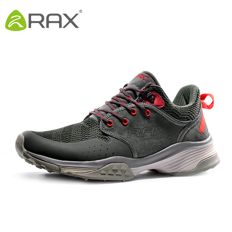 RAX Mens Outdoor Running Shoes Breathable Sneakers For Men Running Sports Sneakers Athletic Jogging Shoes Zapatos De Hombre Man onemix mens running shoes outdoor sport sneakers damping male athletic shoes zapatos de hombre men jogging shoes size 35 46