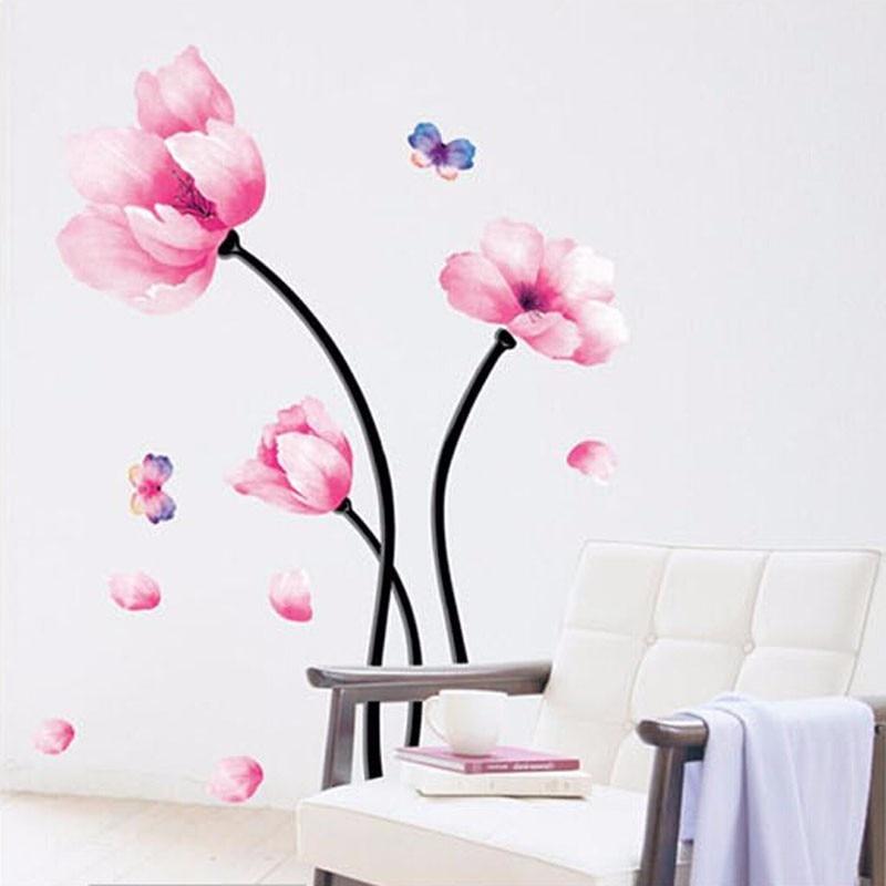 rose wall sticker-achetez des lots à petit prix rose wall sticker