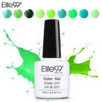 Elite99 10 ML Nail art Design Maniküre Reine Farbe Tränken Weg Vom DIY Grün Serie Gel Polnisch LED UV Gel Nagel polituren Lack 36 Farben