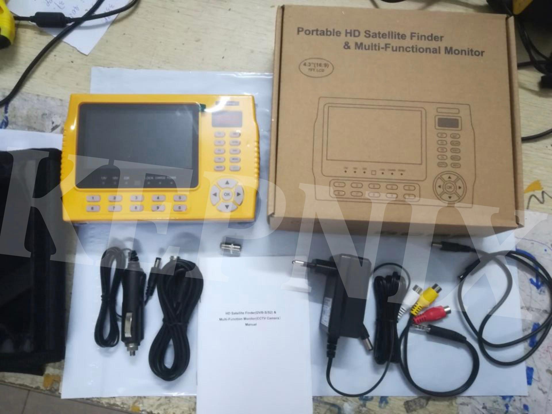 Kpt 958l pantalla LCD de 4,3 pulgadas satlink kpt 958l DVB S2 buscador de satélite MPEG4 satfinder Metro hd 1080p-in Receptor de TV por satélite from Productos electrónicos    1