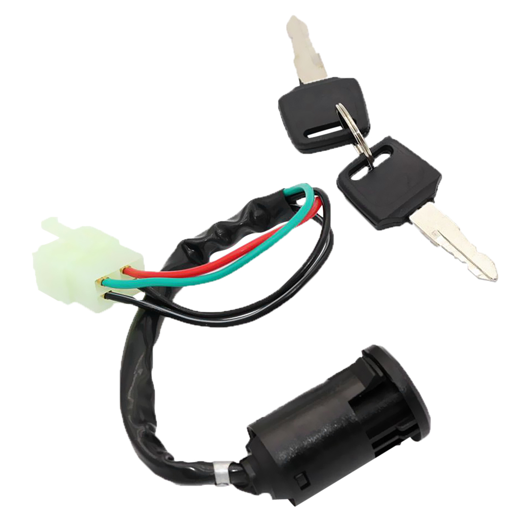 Chinese Ignition Key Switch set 4B for 50-110cc mini ATVs and 70-250cc Motorcycles