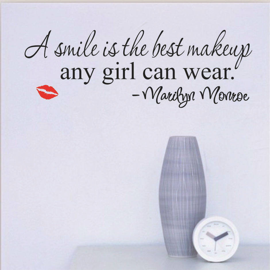 lächeln-makeup-marilyn-monroe-zitat-vinyl-wandaufkleber-kunstwandhauptdekor-aufkleber-lippen-gs482