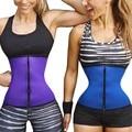 Ganchos e zíper de borracha látex trainer trainer cintura sexy cintura corsets underbust cintura cincher do espartilho tops body slimming shaper