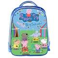 13 inch Peppa Cerdo de Dibujos Animados Los Niños Mochilas escolares Estudiantes de Kindergarten Mochila Niños Niñas Mochilas Diarias de Vacaciones Regalos