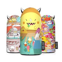 Emie xMonster Funny Portable Charger, 5200mAh Compact Design Cute Power Bank , 2.1A Fast Charging USB Charger with LED Ears Gift