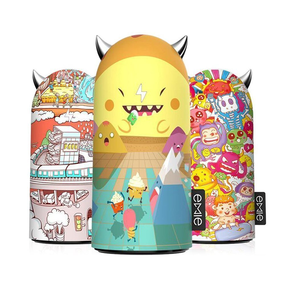 Emie xMonster Funny Portable Charger, 5200mAh Compact Designs