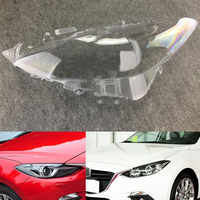 For Mazda 3 Axela 2013 2014 2015 2016 2017 Car Headlight Headlamp Clear Lens Auto Shell Cover