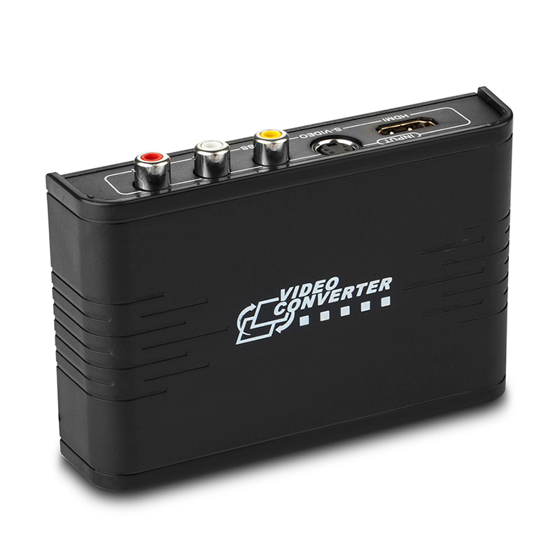 LKV363A CVBS/S-Video to HDMI Converter Composite 3 RCA AV S-video CVBS to HDMI Converter S-video R/L Audio to HDMI 720P /1080P кастрюля primus campfire pot s s 3 l