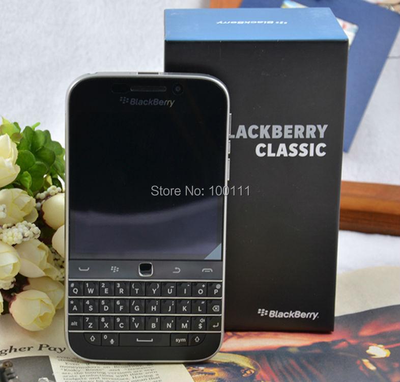 Original BlackBerry Classic Q20 cell Phone unlocked Dual core 2GB RAM 16GB ROM 8MP Camera Smartphone,Free DHL-EMS Shipping mobile phone