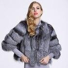 2019 New Fox fur coa...