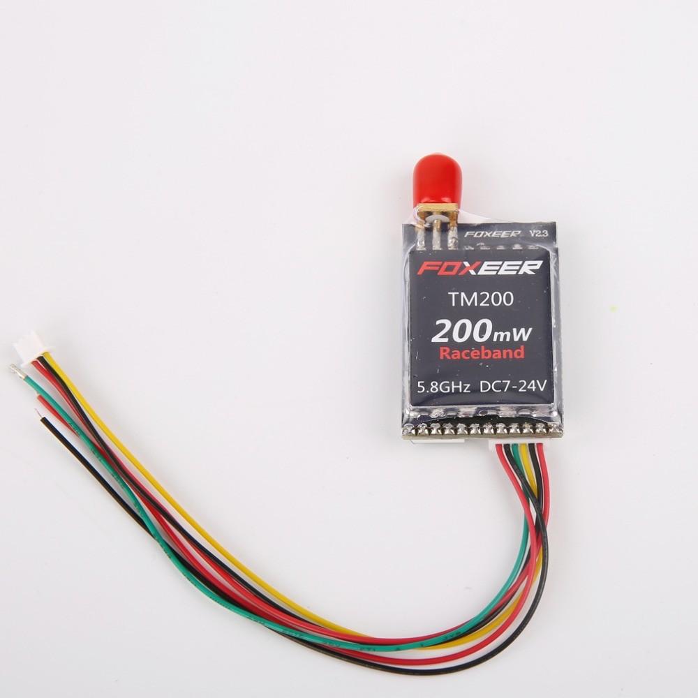 Foxeer-TM25-TM200-TM600-5-8G-40CH-Race-Band-25MW-200MW-600mW-Wireless-Audio-Video-A