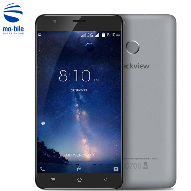 Blackview E7S Android 6.0 5.5 inch 3G Mobile Phone MTK6580 1.5GHz Quad Core 2GB RAM 16GB ROM 8.0MP Fingerprint Smartphone