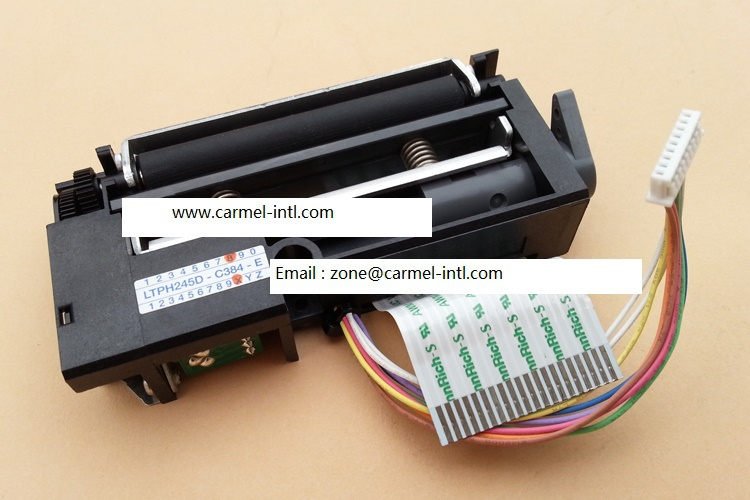 Cash register scales printhead for Accessories bTwin 3680C LTPH245D-C384-E H245Mini thermal printer mechanism  print head