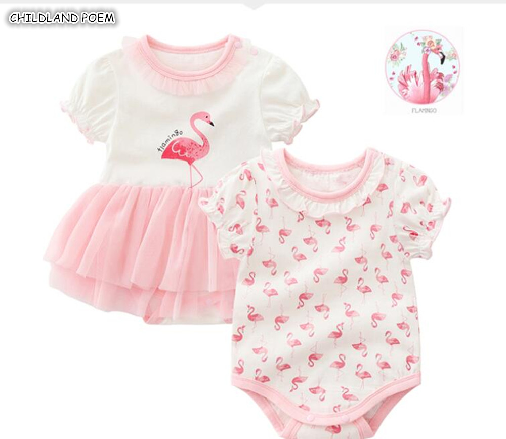 24aee7ac692 Detail Feedback Questions about Baby Girls Clothes Summer Flamingos ...