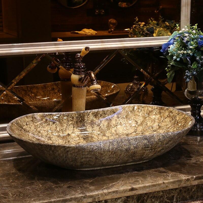 Chinese Antique Stone Ceramic Sinks