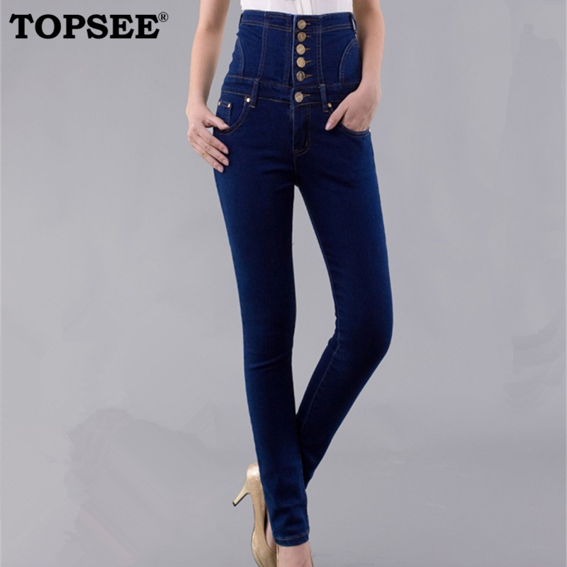 ФОТО 2016 New Fashion Winter Loose Style Washed Thicken Pocket Jean Women Pencil Pants Korean Slim Women Clothing Free Shipping J1233