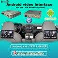 Мультимедиа Видео-Интерфейс Android Навигации, подголовник Экрана, мобильный Телефон Mirrorlink