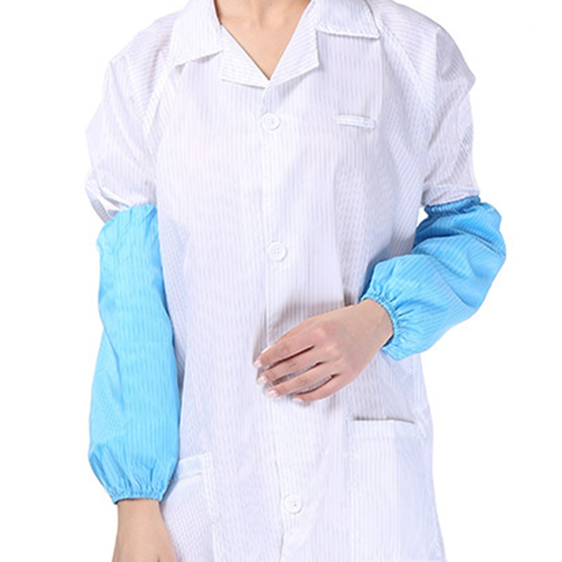 1 Pair Dust-proof Protective ESD Antistatic Arm Sleeve For Cleanroom Working Sleeves