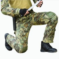 New Python Snake pattern Camouflage Print Pants Military Army Russia brave Men Combat Tactical Green Camo Outdoor Long Trousers
