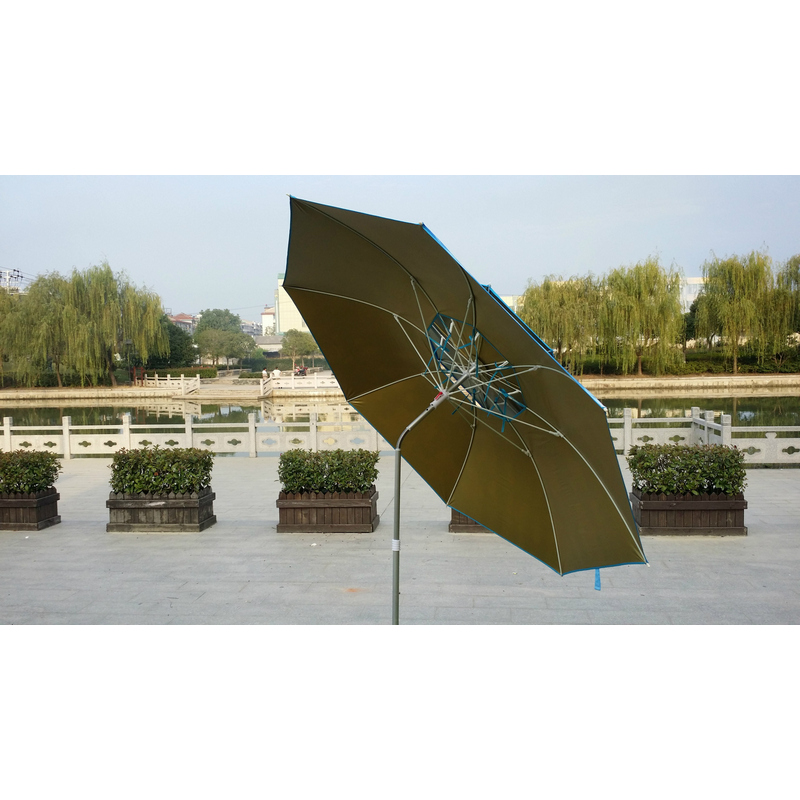 Shade Anti-UV Waterproof Fishing Umbrella Tent Outdoor Camping Travelling 2 Layers 3 Gear Universal Control Fishing Supplies fulang aluminium alloy fishing rotatable umbrella heat protection double layers 2m r35