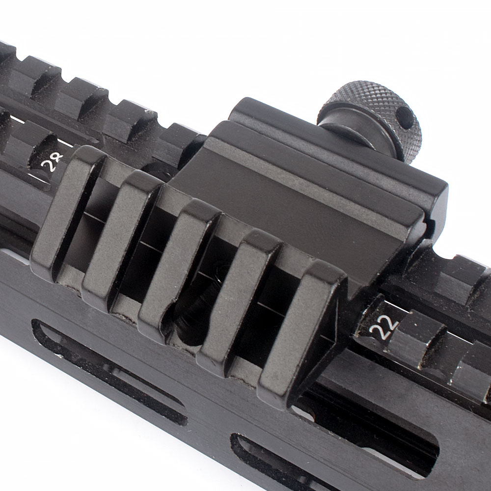 WIPSON 45 Degree Angle Scope Mount Aluminum Offset 4 Slot Side Rail RTS Sight Rail Airsoft 45mm Picatinny Weaver Laser AdapterWIPSON 45 Degree Angle Scope Mount Aluminum Offset 4 Slot Side Rail RTS Sight Rail Airsoft 45mm Picatinny Weaver Laser Adapter