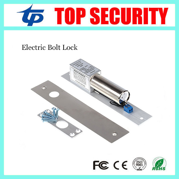 Good quality electric bolt lock 12V electric lock NC fail-safe type power to lock bolt lock for access surface mounting type dc12v fail safe mode electric bolt lock for access control or intercom system