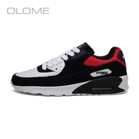 OLOME New Korean version of the tide men's shoes casual sports shoes men's increased cushion air cushion