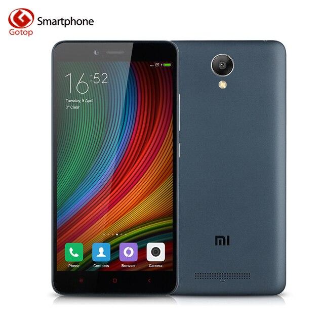 Оригинал Xiaomi Redmi Note 2 5.5 7-дюймовый МТК Helio X10 Octa ядро Xiaomi Сотовый Телефон, Оперативной Памяти 2 ГБ + Rom 32 ГБ 3060 МАч 4 Г LTE Разблокировать смартфон