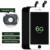Alibaba highscreen aaa para iphone 6 6g lcd display lcd de substituição do conjunto digitador da tela de toque do telefone móvel clone aliexpress