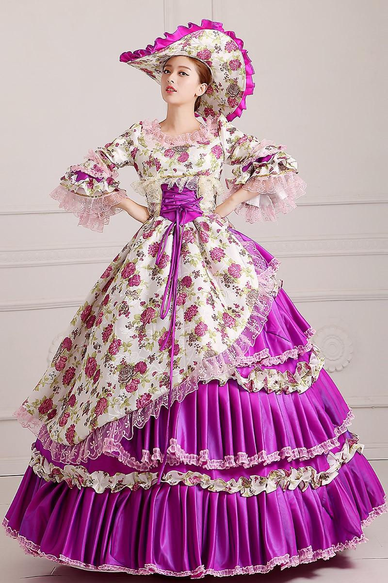 Libre PP Victorian Halloween para las mujeres Cosplay medieval ...