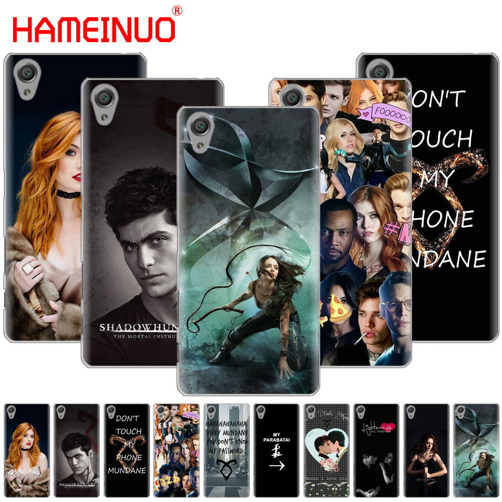 Cellphones & Telecommunications Phone Bags & Cases Forceful Hameinuo Shadowhunters Cover Phone Case For Sony Xperia C6 Xa1 Xa2 Xa Ultra X Xp L1 L2 X Xz1 Compact Xr/xz Premium