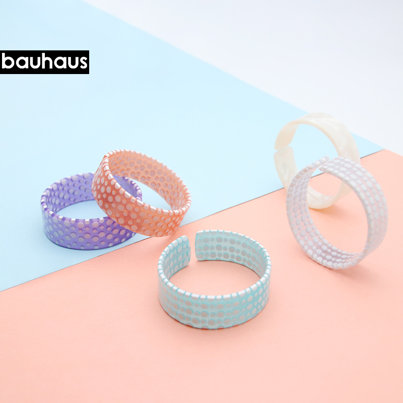 Exquisite Fashion Bracelet Bracelet&Bangle  Acetate Material for Women Variety of Colors Textures