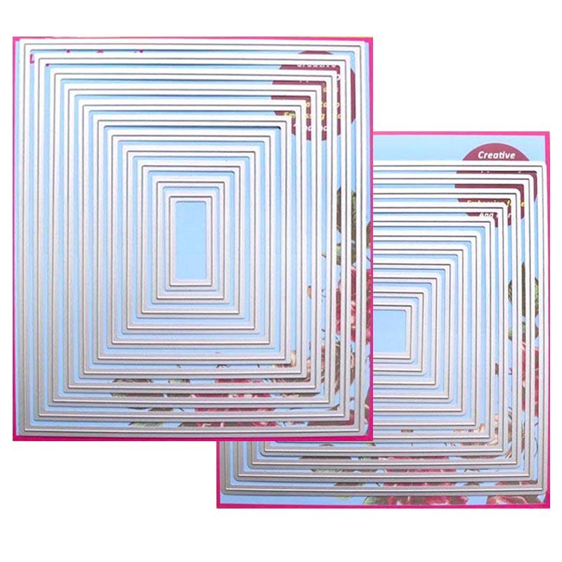 Surprise Creation 2-Set Large Cutting dies Rectangle & Square Cardmaking & Scrapbooking DIY Craft stencilSurprise Creation 2-Set Large Cutting dies Rectangle & Square Cardmaking & Scrapbooking DIY Craft stencil