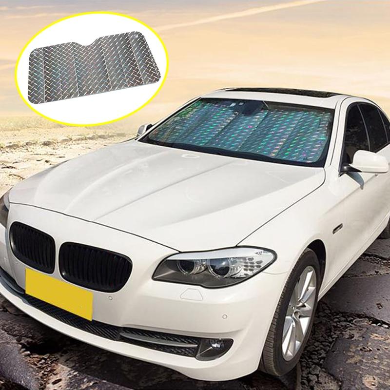 Zd 1x Front Windshield Sun Shade Visor Covers For Bmw E46 E39 E36