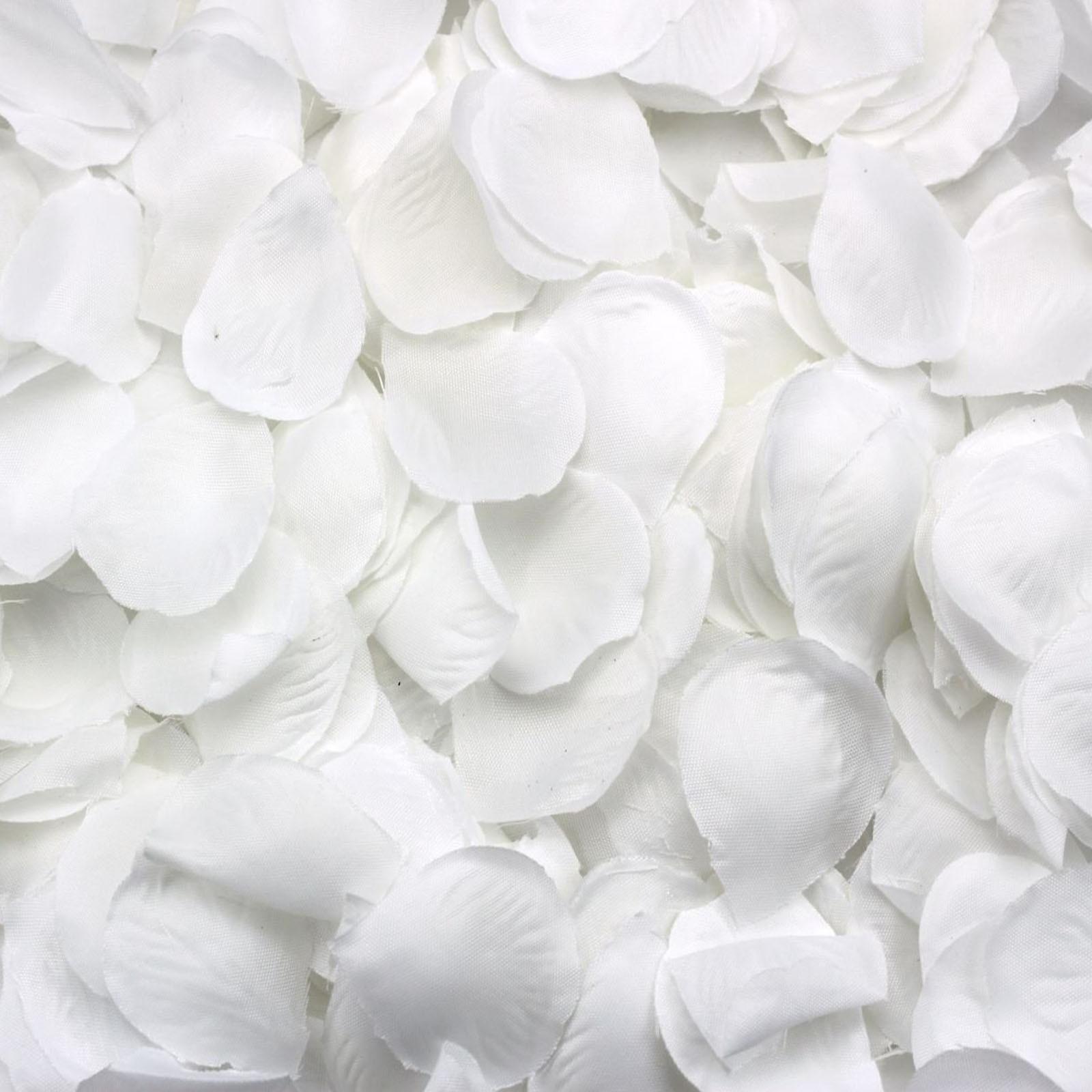 500Pcs Fabric Rose Petals Artificial Flower Wedding Party
