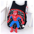 Opciones 2015 Nueva Lindo de la Alta Calidad al por mayor del hombre araña 3D bolsas mochila niños bolsas escuela para Niños niñas