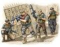 """Trompetista 1/35 00419 militar figuras PMC no iraque em 2005 """" Armed assalto da equipe """" Kit modelo de plástico frete grátis"""