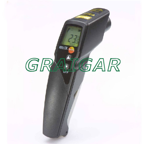 Free Shipping Testo830 T2 IR Infrared Radiation Thermometer Temperature Meter Tester Gauge 0560 8302