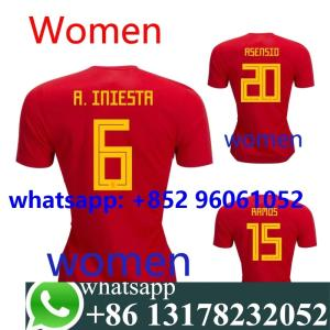 b3b3fed8721 2018 2019 Spain home away shirt 18 19 camisetas shirt survetement World Cup  Women shirt