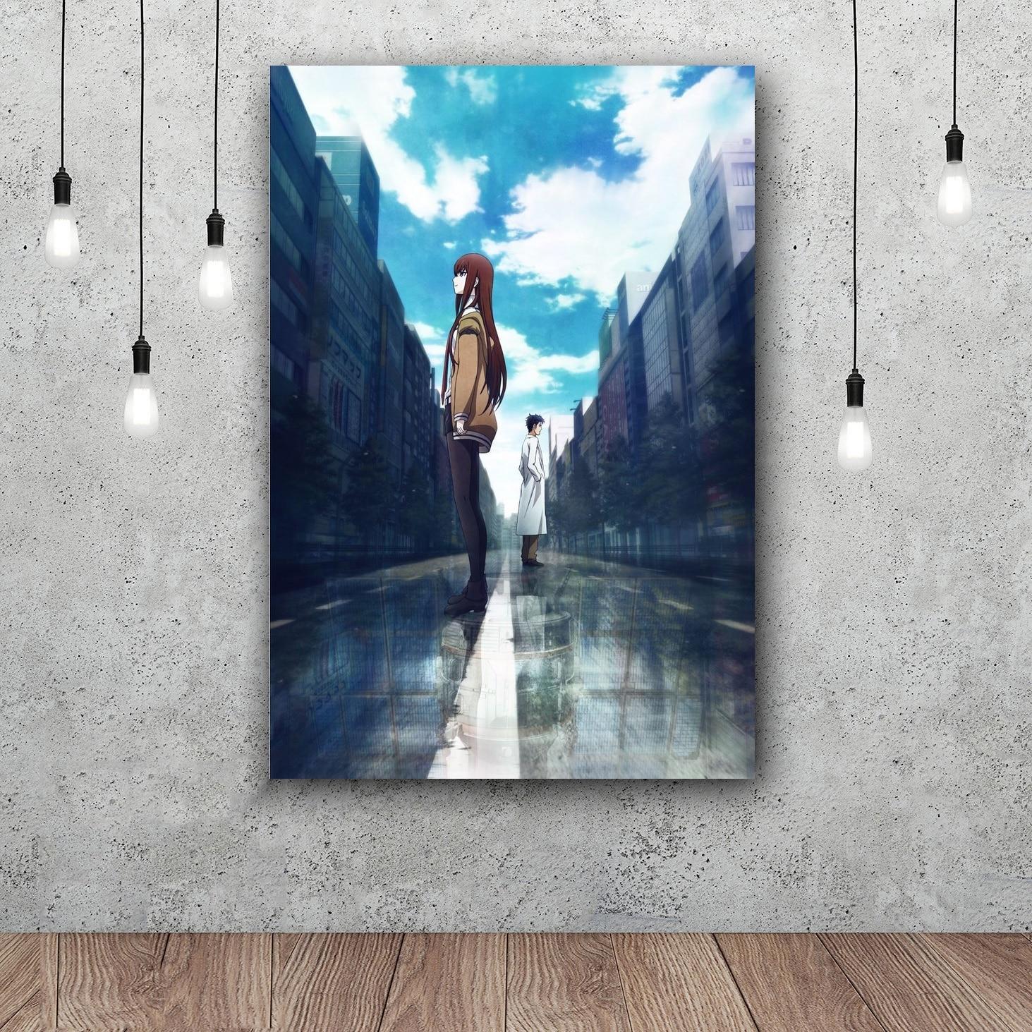 steins gate 0 Art Silk Fabric Poster Print 12x18 24x36inch-in ...